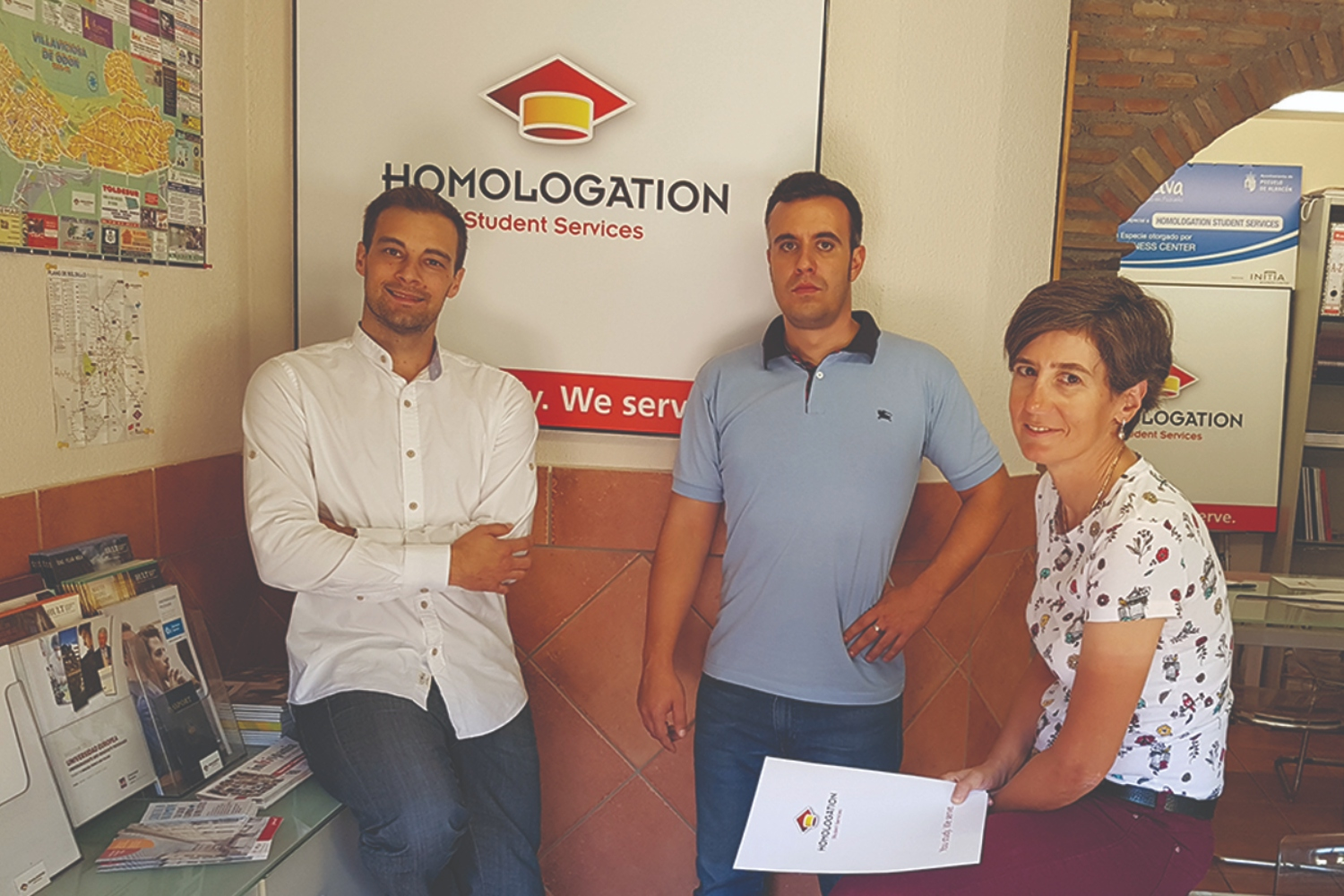 Homolgation Student Services founders