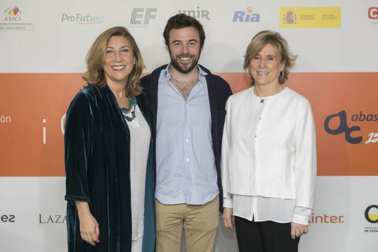 The founders of Abascal Comunicación and Alejandro Abascal, the founder of Difunde Online.