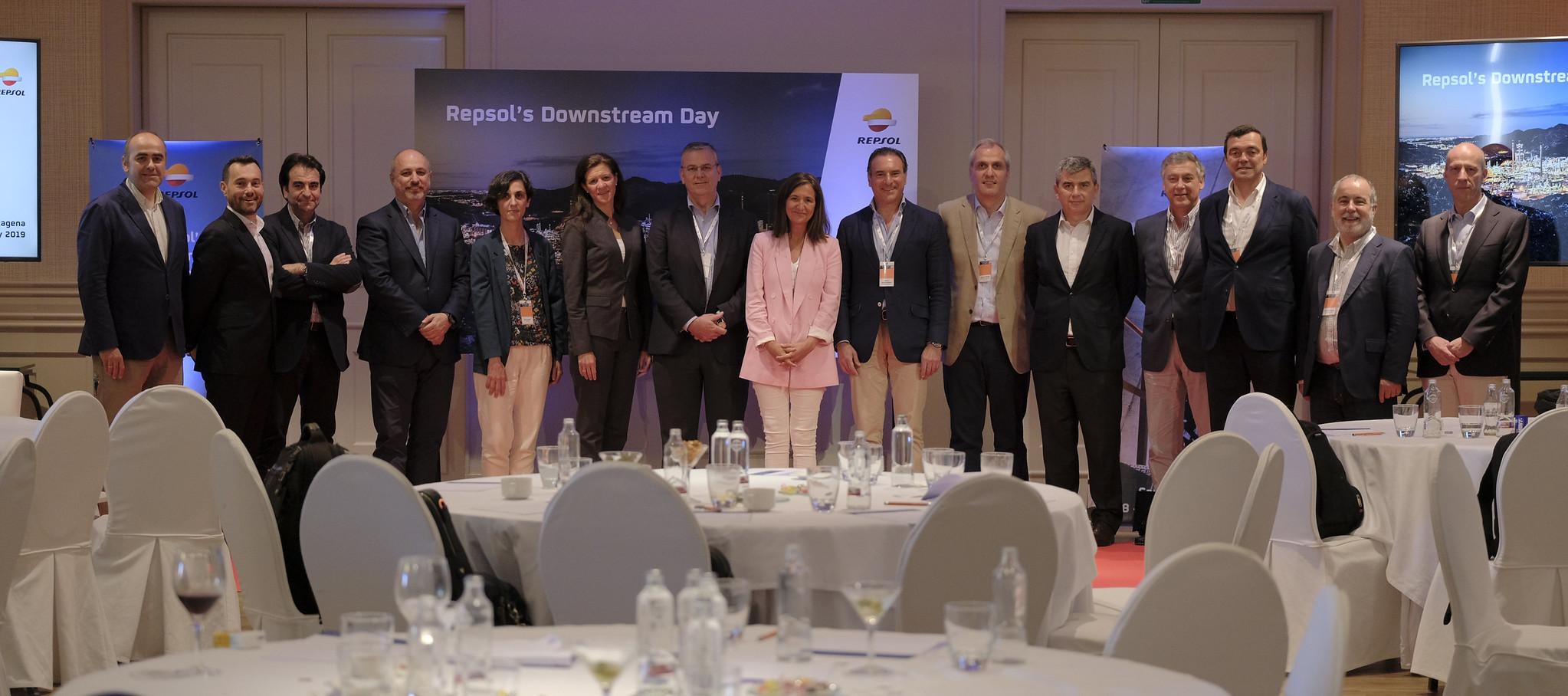 Repsol Team at Cartagena