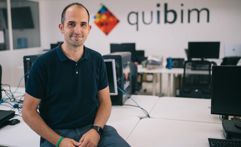 Ángel Alberich, Quibim's CEO